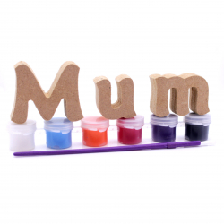 Free Standing Mum with Paints