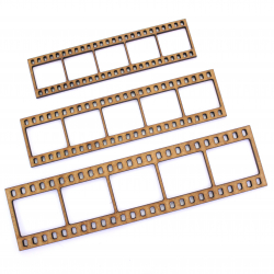 Film Strip Craft Shape