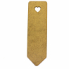 Book Mark Craft Shape With Heart Cutout