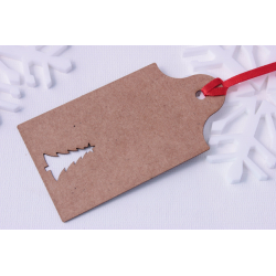 Christmas Tree Gift Tag - 6 Pack