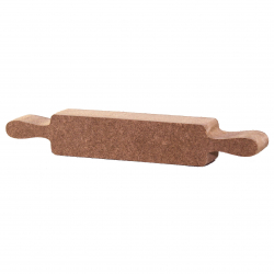 Free Standing Rolling Pin Shape