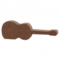 Free Standing Acoustic Guitar Shape