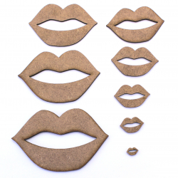 Lips Craft Shape