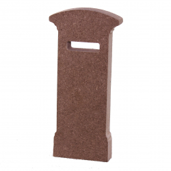 Free Standing Postbox Shape