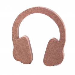 Free Standing Headphones Shape