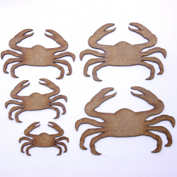 Crab Craft Shape