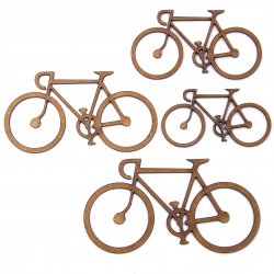 Bicycle Craft Shape