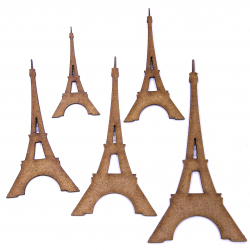 Eiffel Tower Craft Shape