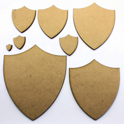 Medieval Shield Craft Shape