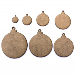 Bauble MDF Craft Shape