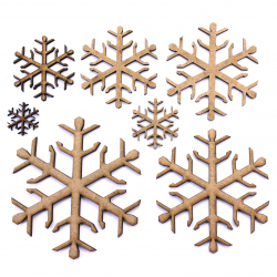 Snowflake Craft Shape