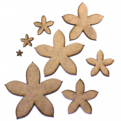 Flower Craft Shape