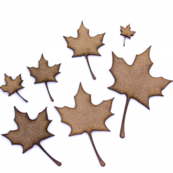 Sycamore Leaf Craft Shape