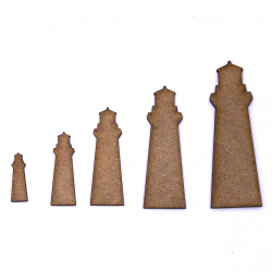 Lighthouse Craft Shape