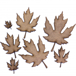 Maple Leaf Craft Shape