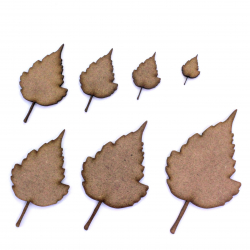 Birch Leaf Craft Shape