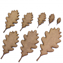 Oak Leaf Craft Shape