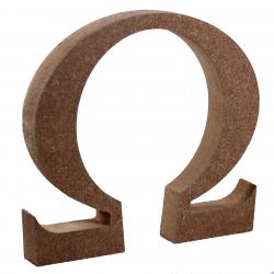 Free Standing Omega Symbol Shape