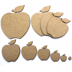 Apple Craft Shape