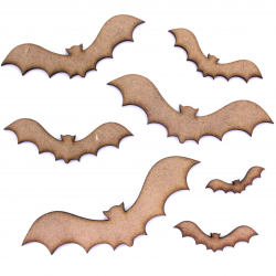 Bat Craft Shape