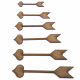 Cupid Arrow Craft Shape