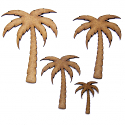 Palm Tree Craft Shape