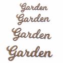 Garden Word Craft Shape