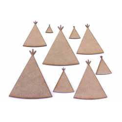 Teepee Craft Shape