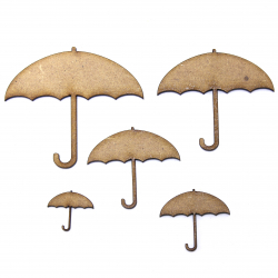 Umbrella Craft Shape