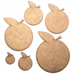 Orange Craft Shape