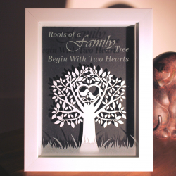 Family Tree with Birds Framed Decoration