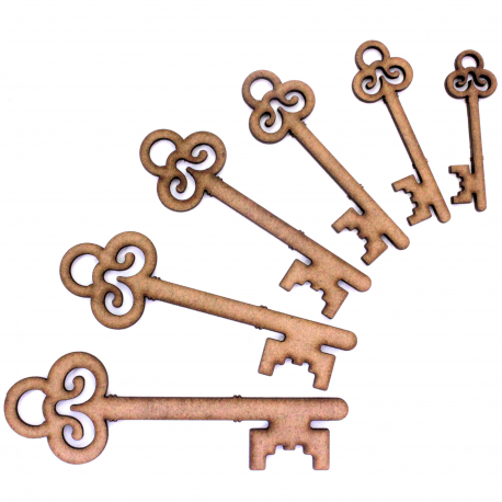 Key Craft Shape