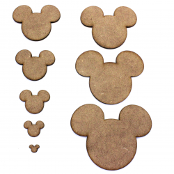 Mickey Mouse Craft Shape