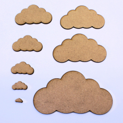 Cloud (Symmetrical) Craft Shape