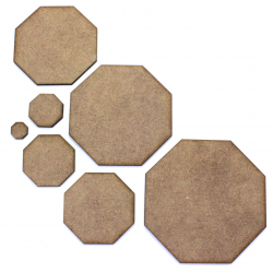 Octagon MDF Craft Shape