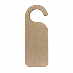 Door Handle Hanger Blank.