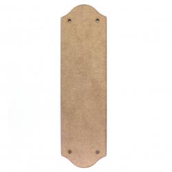 Door Push Plate Blank