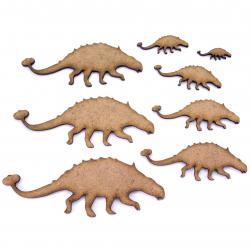 Ankylosaurus MDF Craft Shape