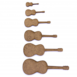 Acoustic Guitar Craft Shape