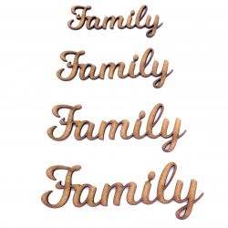 Family Craft Shape