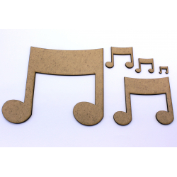 Music Note Craft Shape