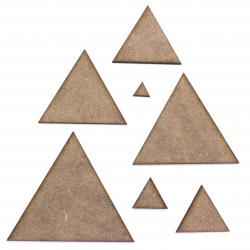 Triangle Craft Shape
