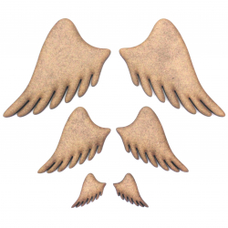 Angel Wings (Pair) Craft Shape