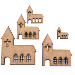 Church Craft Shape