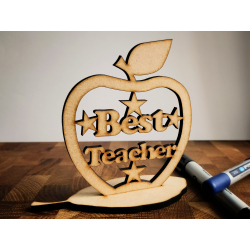 Best Teacher Apple Stand