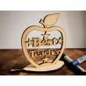 Best Teacher Apple Stand