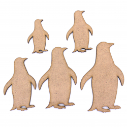 Penguin Craft Shape