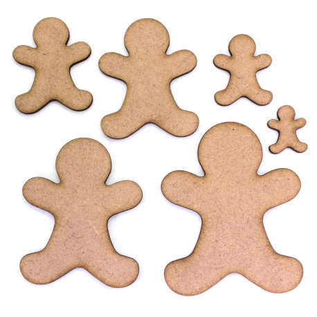 Gingerbread Man Craft Shape