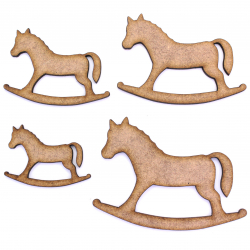 Rocking Horse Craft Shape