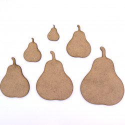 Pear Craft Shape